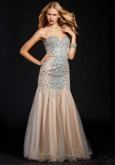 Long Prom Dress Sweetheart Collar Backless Beads Organza Dress Evening Dress Party Dress S035 on Luulla