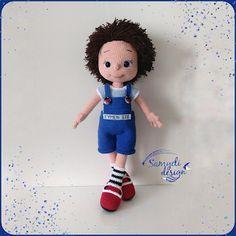 Samyelinin Örgüleri: Amigurumi Boy Baby Doll