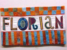 filzlaus: Embroidered Appliqué