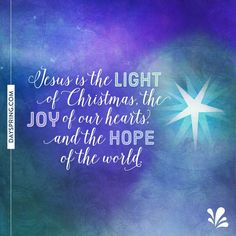 jesus is the light of christmas the joy of our hearts and the hope - Jesus Christmas Cards