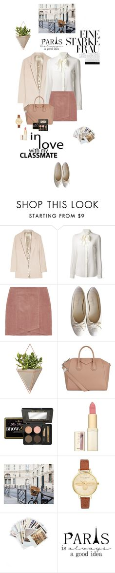 """""""Paris is always a good idea"""" by bittersweet89 ❤ liked on Polyvore featuring Halston Heritage, Dolce&Gabbana, Chanel, Umbra, Givenchy, L'Oréal Paris, Olivia Burton and Chronicle Books"""