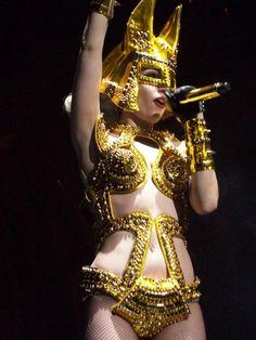 Lady Gaga in Formichetti Designed Tour Costume