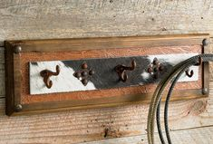 Big Ranch Coat Rack-Make this...