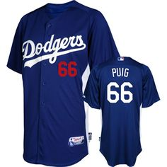 Yasiel Puig Los Angeles Dodgers Batting Practice Jersey