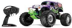 Traxxas Grave Digger 30th Anniversary Limited Edition 2.4GHz 1:10 Electric RTR RC Monster Truck at HobbyTron.com