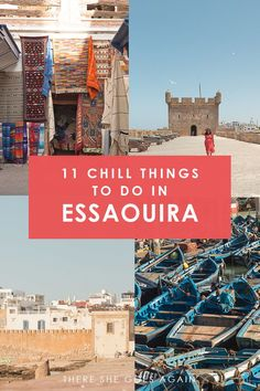 All the best things to do in Essaouira, Morocco | morocco travel