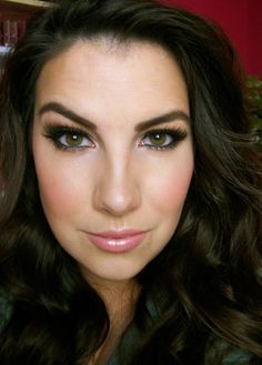 Olive Smokey Eyes with Too Faced Natural at Night - Beauty Broadcast