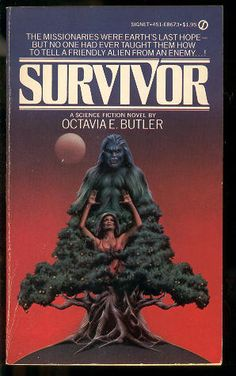 """""""Octavia Butler's Survivor, the lost Patternist book she disavowed, is out of print. While she was alive, she wouldn't talk about it at book signings, getting notably perturbed. Copies of it were available in battered forms on eBay, but they were not exactly easy to get.    What's that you say? You live in the future and you wanna read it anyway? Well, lucky for you Google Docs shares your sentiment and has posted the entire thing online."""""""