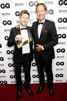 Christopher Bailey And Richard E Grant At The GQ Men Of The Year Awards 2014