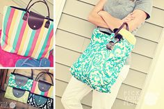 A Peachy, Beachy Day - Beach Bags for 65% Off | Pick Your Plum