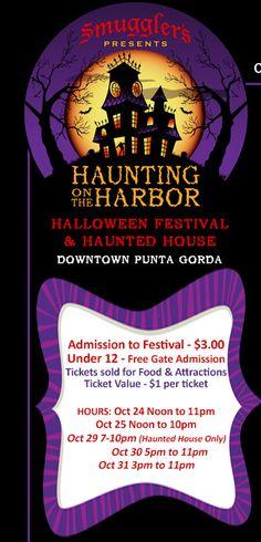 Haunting on The Harbor - Halloween Festival & Haunted House, Punta Gorda, Florida