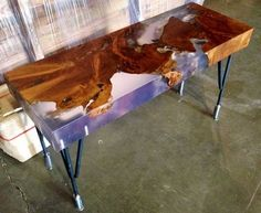 teak root table - Google Search