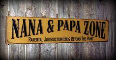 Nana and Papa Zone