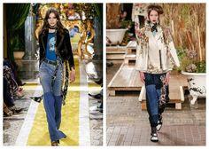 Модные тенденции 2017 года: джинсы, фото