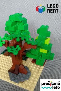 Čítanie a stavanie k týždňu o stromoch. Tá najlepšia zábava na letné dni. Nintendo, Lego, Legos