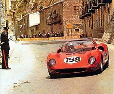 Targa Florio 1965 , Nino Vaccarela- Lorenzo Bandini ( Ferrari 275P2 )
