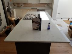 Monaco Carrera- Harpenden, Herts - Rock and Co Granite Ltd Marble Effect, Carrara, White Marble, Monaco, Dining Table, Luxury, Furniture, Home Decor, Decoration Home