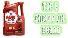 5 Best Engine Oil Brand 2016