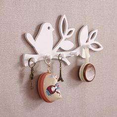Cheap hook phone, Buy Quality decorative curtain hooks directly from China hook nail Suppliers: Mini electric sewing machine multifunctional handheld sewing clothes /dress handy stitch househo Wooden Shelf Design, Wooden Art, Wooden Crafts, Wooden Key Holder, Wall Key Holder, Diy Wood Projects, Woodworking Projects, Decorative Wall Hooks, Laser Cutter Projects