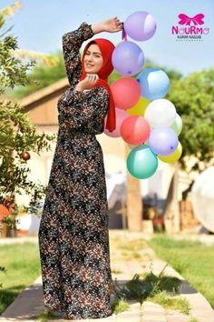 96dbcbb53ad15 colorful hijab fashion- Eid colorful hijab outfits www.justtrendygir