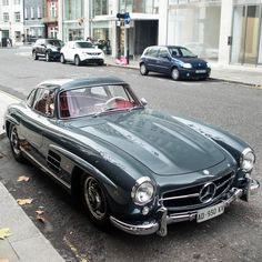Mercedes 300SL The ONLY car that matters! :)