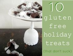 gluten free holiday treats that don't suck