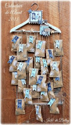 Calendrier de l'Avent 2013 - Scrap & Déco d'Is@ de Belley