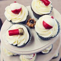 Grooms cupcakes made by Jami Hanley