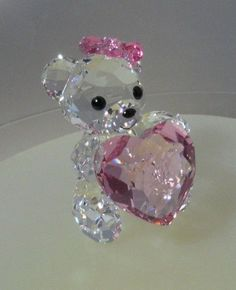 """SWAROVSKI SILVER CRYSTAL """"KRIS BEAR - 2012 ONLY FOR YOU"""" 1096732 MINT IN BOX in Pottery, Porcelain & Glass, Glass, Crystal/ Cut Glass 