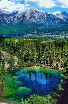 Grassi Lake, Alberta, Canada. #Canada #travel #outdoors Wow this is gorgeous. Canada is so appealing