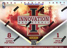 2012-13 Panini Innovation Basketball Cards Hobby Box - New! $87.95