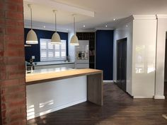 Micah Kitchens designs and creates another Inspiring Living Space Micah Kitchens Modern Seno Built In Cupboards, Turning, Kitchen Design, Living Spaces, Kitchens, Vanity, Dreams, Elegant, Live