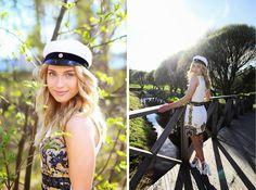 Tönnön sillalla? Graduation Photoshoot, Henna, Captain Hat, Photography, Fashion, Moda, La Mode, Hennas, Fasion