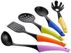Lot de 5 ustensiles de cuisine silicone