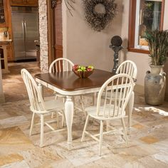 Olley 5 Piece Contemporary Dining Set