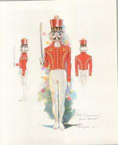 Иллюстрации Роберт Perdziola любезно Бостон балета