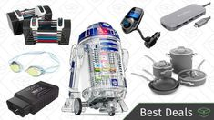 Sunday's Best Deals: Adjustable Dumbbells Star Wars Droid Inventor Kit USB-C Adapter and More