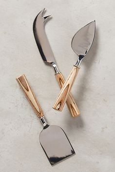 Tree Rings Cheese Knives #anthropologie