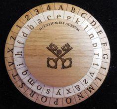 Alberti Cipher Disk - Escape Room Puzzle