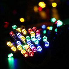 all new 200 ledsluckled solar christmas lights 72ft led fairy decorative string lights for outdoor home patio lawn party and holiday