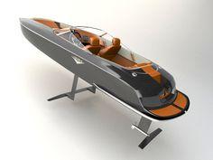 Candela Electric Speed Boat – på el i 40 knop Fast Boats, Speed Boats, Power Boats, Yacht Design, Boat Design, Vw Wagon, Electric Boat, Nissan Leaf, Wood Boats