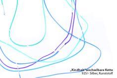 Childhood blue - Necklace - Eva Suba