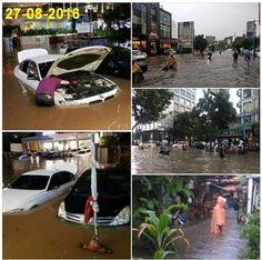 Kesaksian Warga Kemang Jakarta: Datangnya Banjir Seperti Tsunami  [portalpiyungan.com] JAKARTA - Banjir dahsyat yang menerjang kawasan elit Jakarta di daerah Kemang Jakarta Selatan pada Sabtu (27/8) lalu sangat mengagetkan warga. Salah seorang saksi mata Zulfani (seorang pembantu/PRT) menuturkan saat air banjir tiba air tersebut tampak seperti tsunami. Pasalnya air tiba-tiba saja datang dengan intensitas yang cukup tinggi. Padahal air biasanya hanya datang secara bertahap. Saat tahu air…
