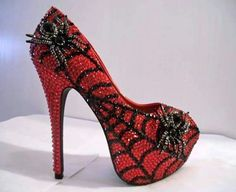 0ac84bdbe7568b Spiderwoman spider woman swarovski shoes Me Too Shoes