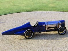 1925 Sunbeam Bluebird Land Speed Record Car - Wasn't this Malcolm Campbell's rocket?