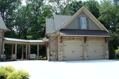 Detatched Garage - traditional - garage and shed - atlanta - Paragon Construction Services