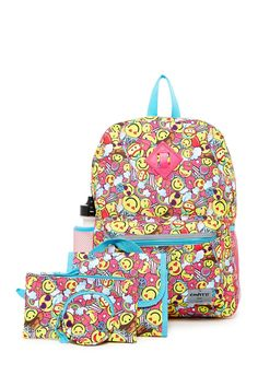 0eef4f6438e1 Happy Party 6-In-1 Backpack Set. Happy Party