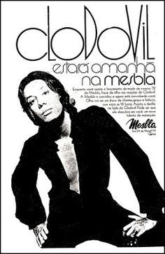 Anúncio lojas Mesbla - Clodovil - 1972
