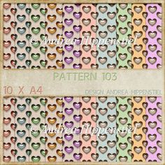 Backing Paper Pattern 103 - £2.00 : Instant Card Making Downloads
