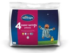 Silentnight Super Springy Pillows 4 Pack
